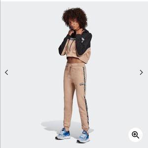 Adidas Cuffed Beige Pants Size Large